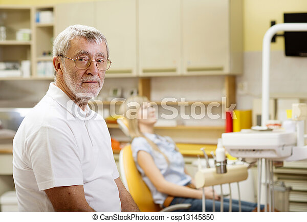 Dental visit - csp13145850
