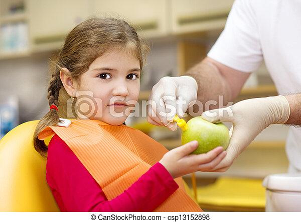 Dental visit - csp13152898