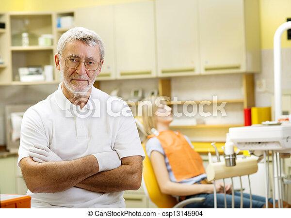 Dental visit - csp13145904