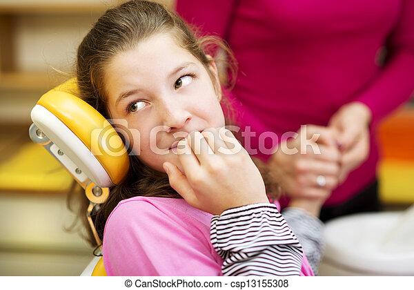 Dental visit - csp13155308