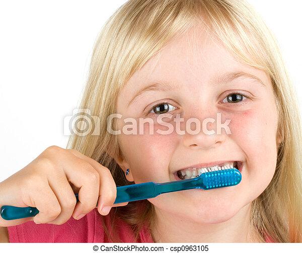 dentale hygiëne - csp0963105