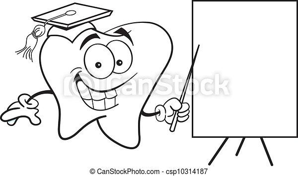 dente, segno - csp10314187