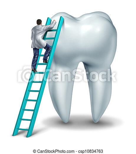 Dentist Checkup - csp10834763