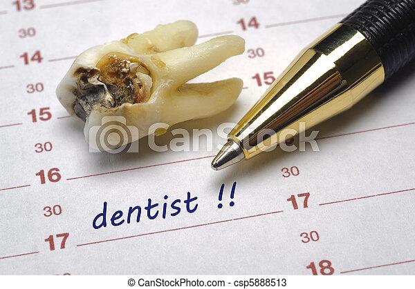dentist date - csp5888513