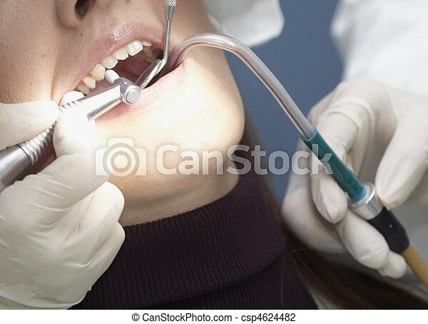 dentist health care medicine stomatology - csp4624482