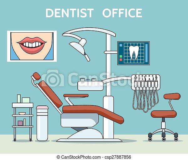 Dentist office csp27887856