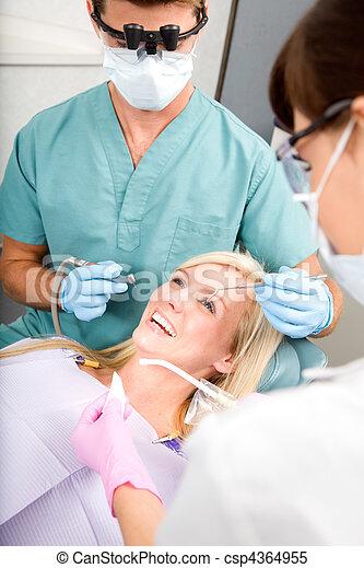 Dentist Patient - csp4364955