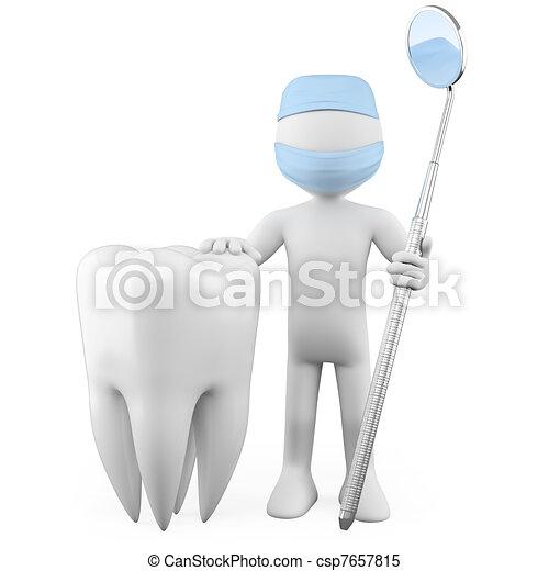 Dentist - csp7657815