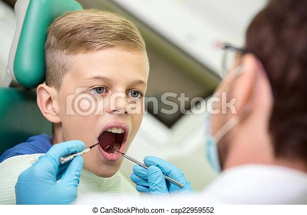 Dentist - csp22959552