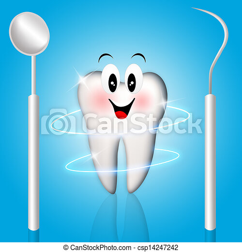 Dentist Tools Stock Illustration
