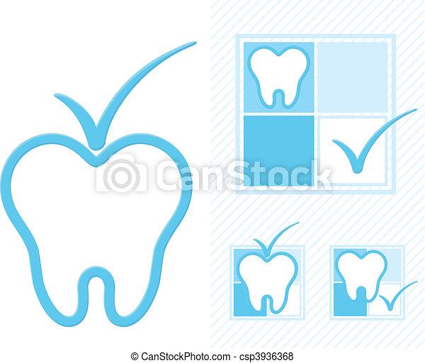 dentistry logo - csp3936368
