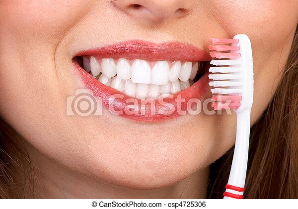 dents, sain - csp4725306