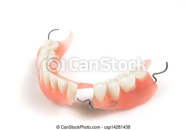Denture - csp14281438