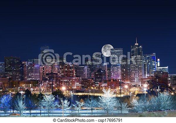 Denver Skyline West - csp17695791