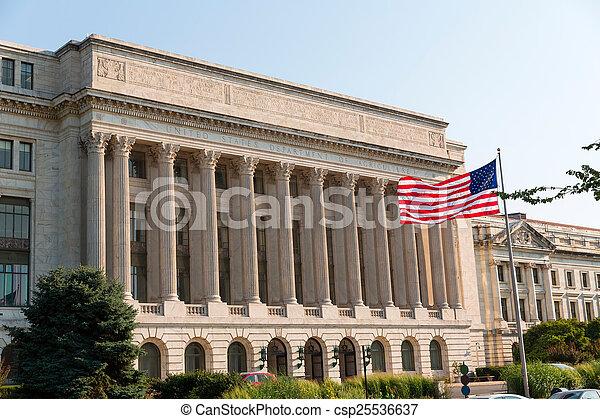 Department of Agriculture Washington DC USA - csp25536637