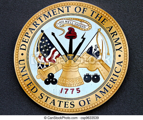 Department of the Army USA - csp9633539