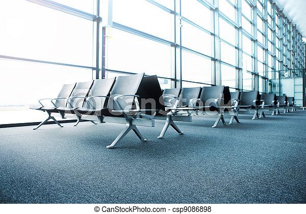 Departure lounge - csp9086898