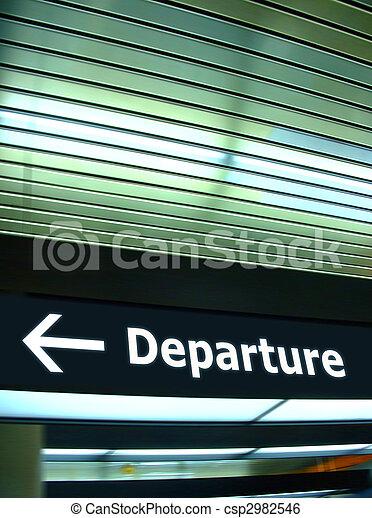 Departure - csp2982546