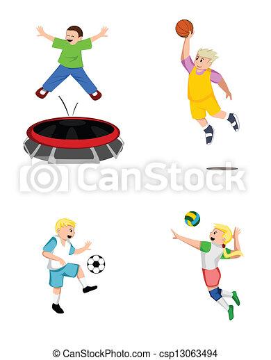 Colección deportiva infantil - csp13063494