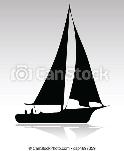 Versión deportiva de botes - csp4697359