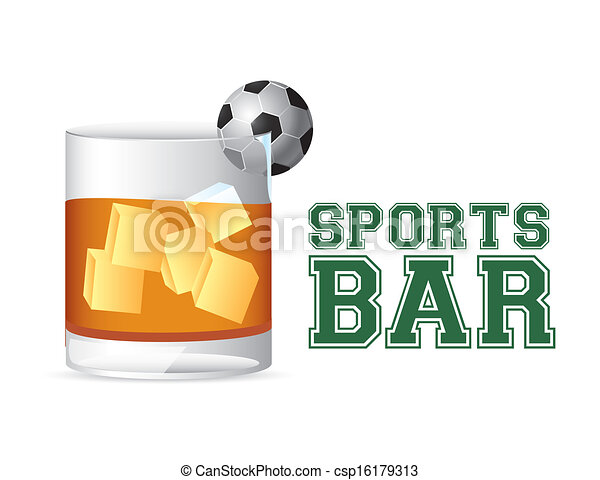 Bar deportivo - csp16179313