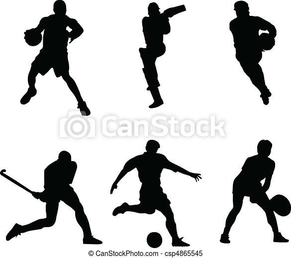 deportes de pelota - csp4865545