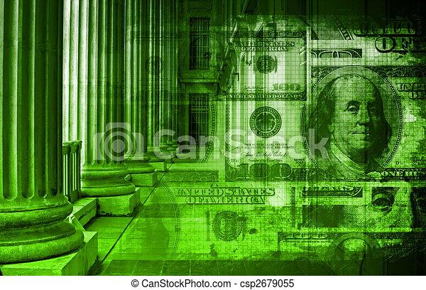 Banco online - csp2679055