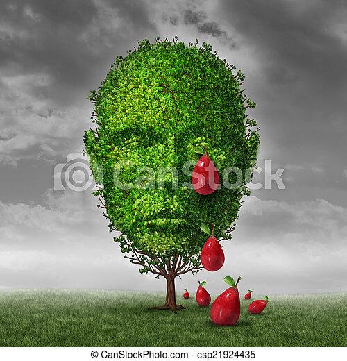 Depression And Mental Health - csp21924435