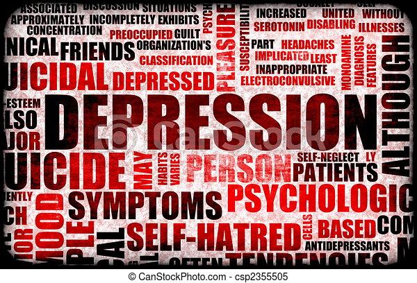Depression - csp2355505