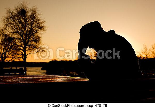 Depression - csp1470179
