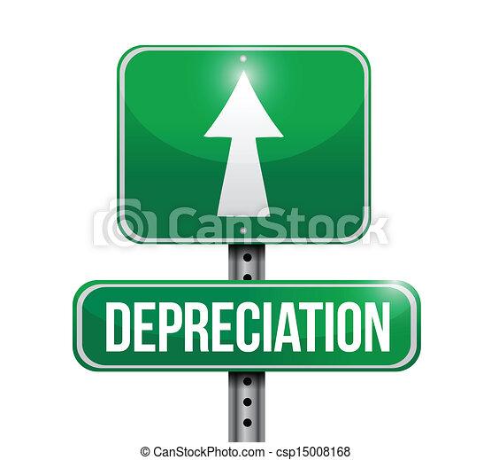 deprezzamento, disegno, strada, illustrazione, segno - csp15008168