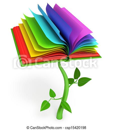 Desarrollo de educación. Libro mágico - csp15420198