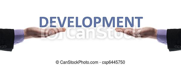Mensaje de desarrollo - csp6445750