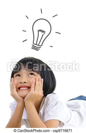 desarrollo, niño - csp9716671