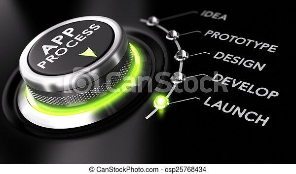 Proceso de desarrollo de aplicaciones - csp25768434