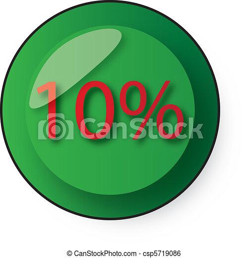 Botón de descuento - csp5719086