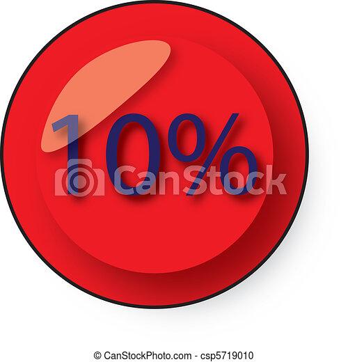 Botón de descuento - csp5719010