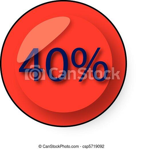 Botón de descuento - csp5719092