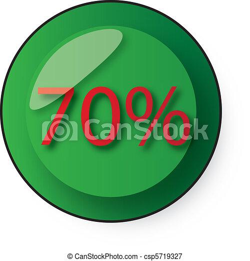 Botón de descuento - csp5719327