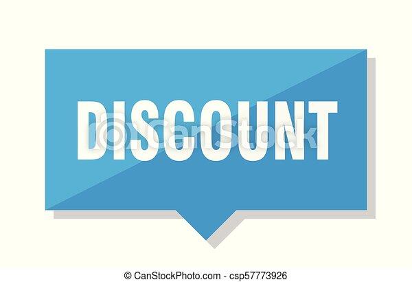 El precio de descuento - csp57773926