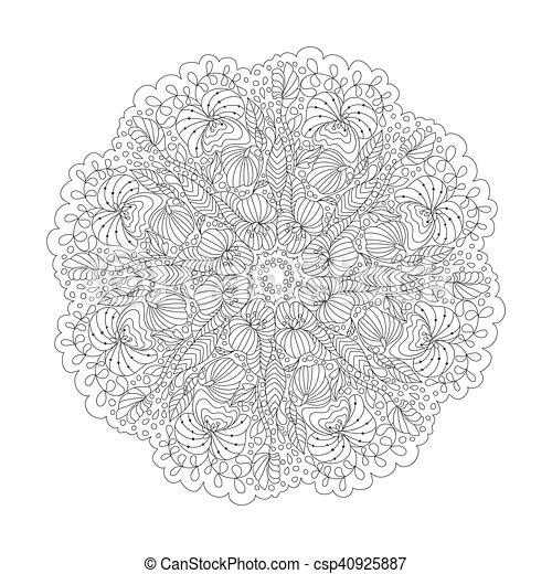 Desenho Decorativo Coloracao Esboco Ornament Pattern Book