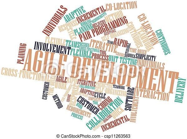 desenvolvimento, ágil - csp11263563