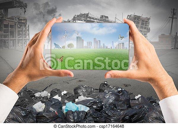 desenvolvimento sustentável - csp17164648