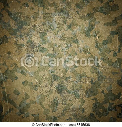 Desert army camouflage background - csp16545636