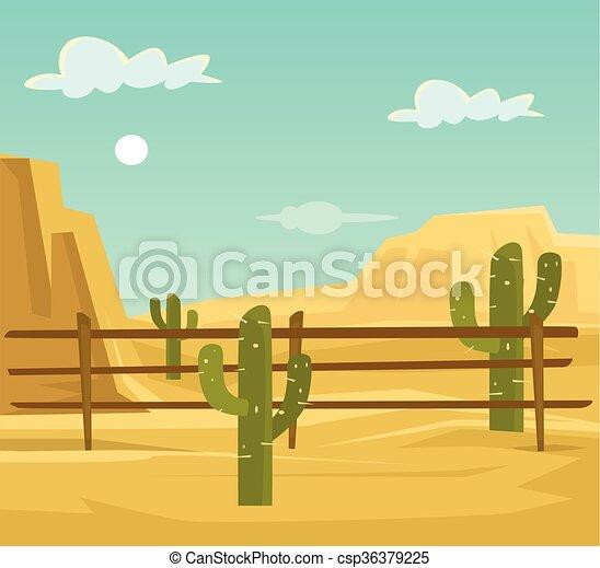 Desert - csp36379225