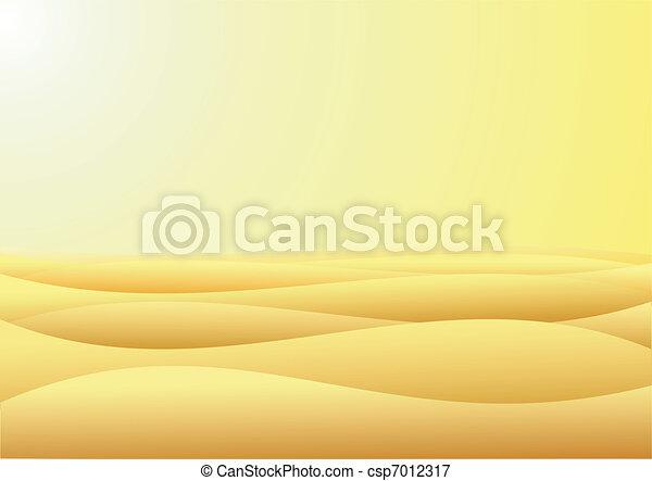 Desert - csp7012317