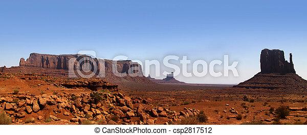 Desert landscape in the Arizona - csp2817512