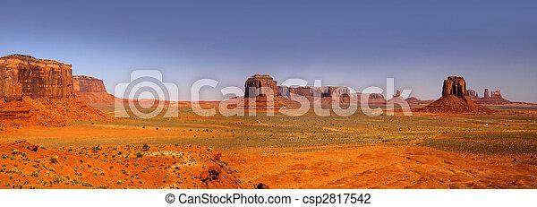 Desert landscape in the Arizona - csp2817542