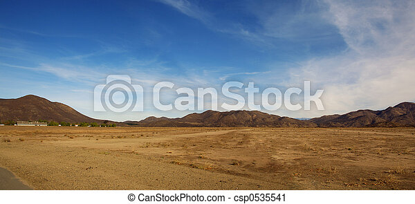 Desert Landscape - csp0535541