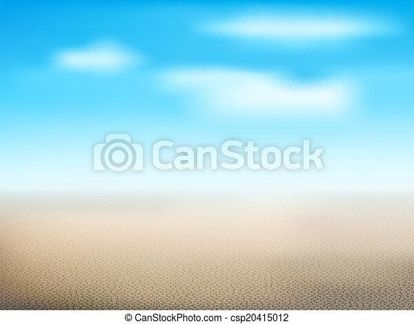 Desert landscape  - csp20415012
